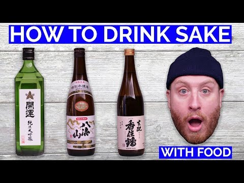 HOW TO DRINK SAKE