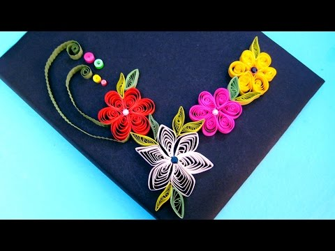 Paper Quilling Tutorial # 2 - Learn Flower Making @ jaipurthepinkcity.com