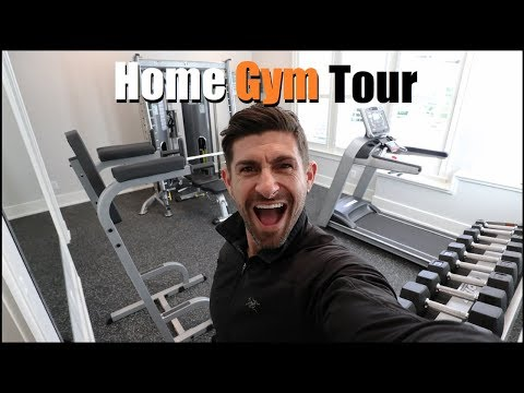 *EXCLUSIVE* alpha m. Home Gym Tour!