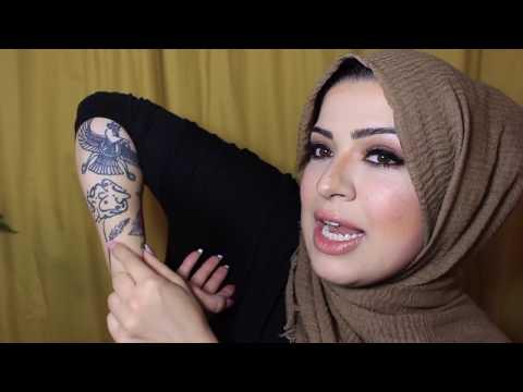 Tattooed Hijabi Muslim