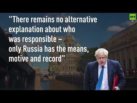 Boris Johnson blames Russia again
