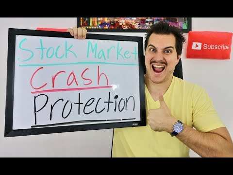 STOCK MARKET CRASH PROTECTION! - HOW TO MAKE MONEY IN A STOCK MARKET CRASH