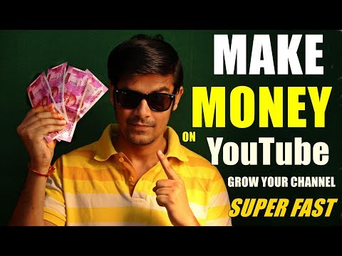 How to make money with youtube channel | Grow Your Channel Superfast