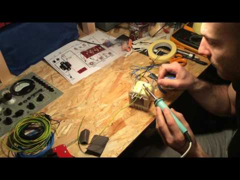 5e8 Project - Fender Power Transformer Winding Part II
