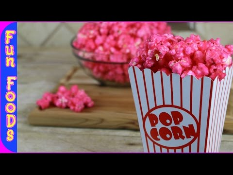 Bubble Gum Popcorn | How to Make Candy Popcorn