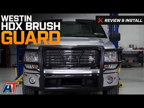 2009-2014 F150 Westin HDX Brush Guard Review & Install