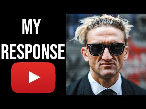 The Pressures Of Being A Youtuber (Casey Neistat Response)
