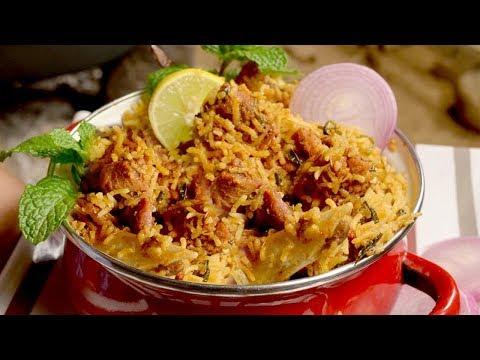 Mutton Biryani Recipe , Hyderabadi Mutton Biryani , Lamb biryani - Easy Homemade