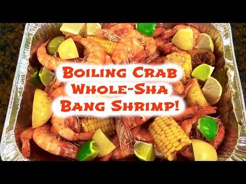 Boiling Crab's Whole Sha-Bang Shrimp Recipe