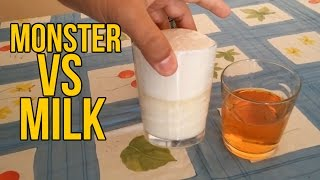 What Will Happen If You Mix Milk and Monster?