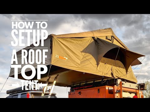How to Setup A Roof Top Tent