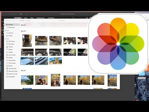 How to Export Photos Videos Out of Photo iPhoto App
