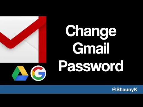 Gmail Help   Changing your password