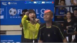 Haruka Gesreknya Kebangetan, Wasitnya Malah di Kartu Merah @Pocari Sweat Futsal Championship 2017