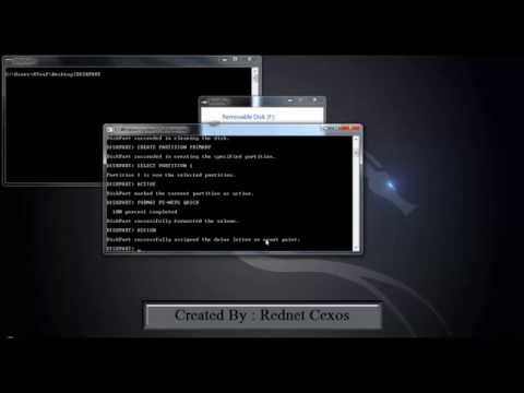 How To Make A Bootable USB from DVD or Iso (CMD)