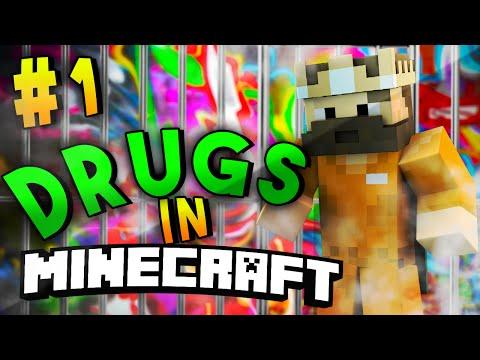 Minecraft Prison Server Ep 1 - DRUG DEALING?! (Prison/Drug Server 1.8)