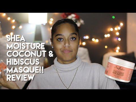 NEW! SHEA MOISTURE COCONUT & HIBISCUS MASQUE | Demo + Review | Danielle Renée