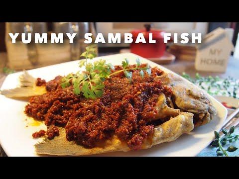 How to Cook Lai Huat Seafood Inspired Sambal Fish 三巴辣椒鱼