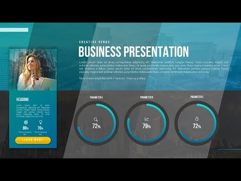 How To Design Beautiful Profile, Business Portfolio, CV Slide in Microsoft Office365 PowerPoint PPT