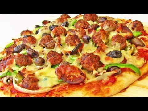 Meatball And Chorizo Pizza Recipe