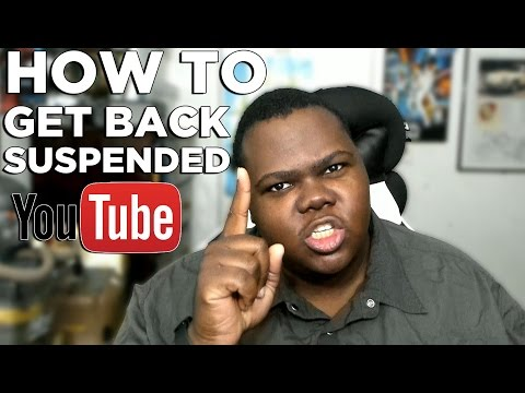 How To Unsuspend Terminated YouTube Channel Community Guidelines Appeal