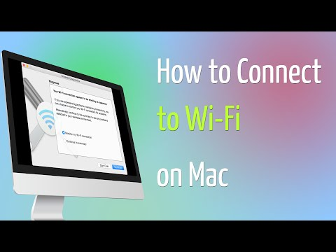 How to Connect to Wi Fi on Mac