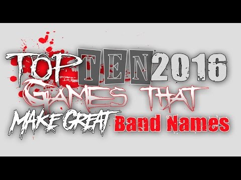 Top 10 Games of 2016 That Make Great Band Names - with Tim Jennette