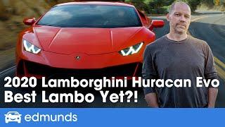 2020 Lamborghini Huracan Evo Review: Lamborghini, Evolved!