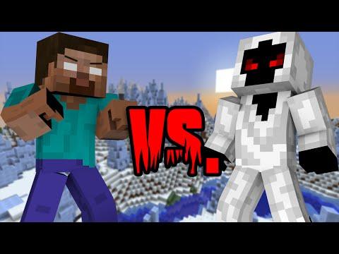 Herobrine VS Entity 303 - Minecraft