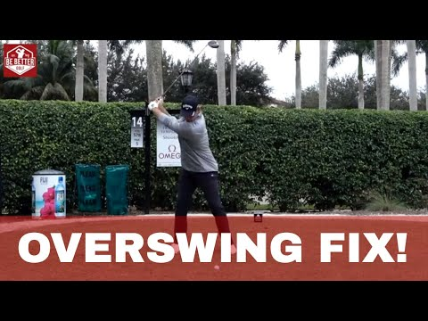 Bel Air Drill / Woodland Drill for GOLF overswinging