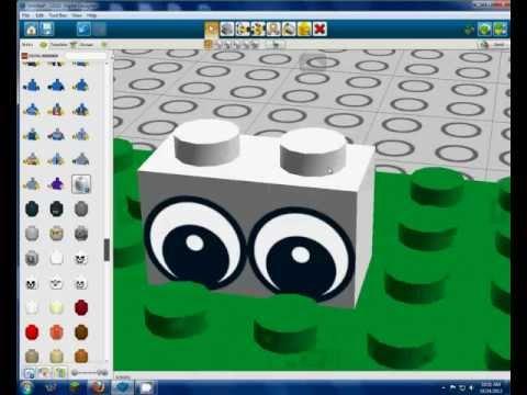 How to use Lego Digital Designer 4.3 (2012)