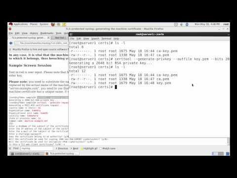 How to Configure Centralized Log Server