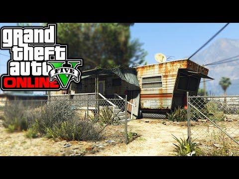 Aller dans la Maison de Michael, Franklin & Trevor sur GTA 5 Online !