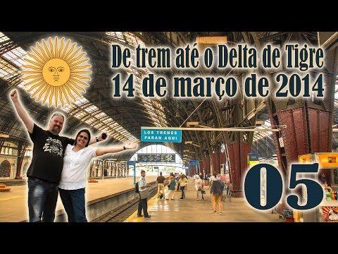 05/05 - Buenos Aires - De Trem até o Delta de Tigre
