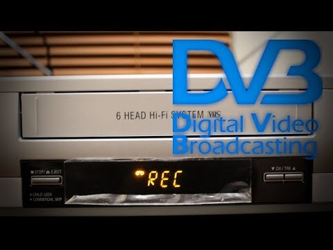 Using a VCR to record Digital TV