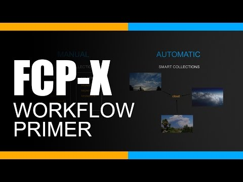 A Final Cut Pro X Workflow Primer for Beginners – Importing, Data Management and Exporting