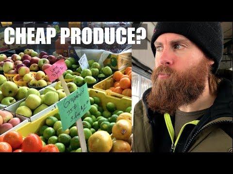 Buying Cheap Produce & Vegan Meetup #OnABudget