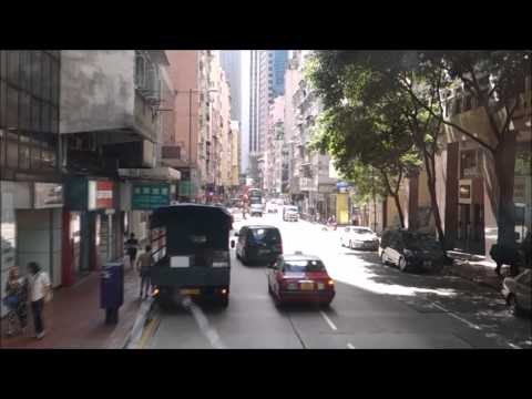 Cheapest Way to Get to Victoria Peak Hong Kong Bus Ride Citybus Number 15 Part 1