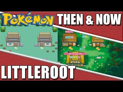 Pokemon Then & Now - Littleroot Town Comparison