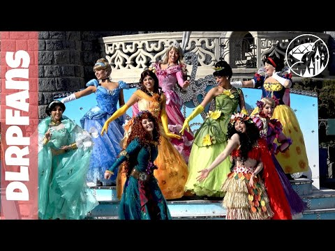 Princess Team Pirates and Princesses festival in 4K at Disneyland Paris