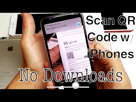 iPhone 6/7/8/X: How to Scan QR Code with Built-In Scanner (No Downloads)