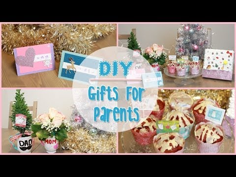 Homemade gift ideas for your parents for christmas