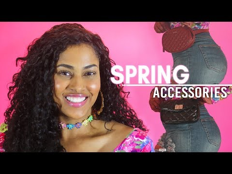 SPRING ACCESSORIES 2018 | $5 & Under 😱  | CHINACANDYCOUTURE