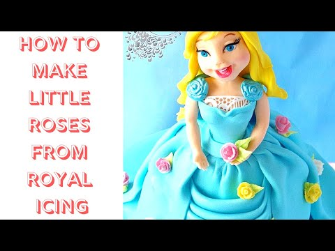 Video Tutorial: How To Make Little Roses From Royal Icing