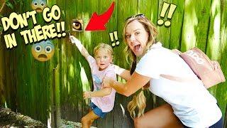 WE TRY BREAKING INTO THE ZOO KEEPER's SECRET DOOR!!