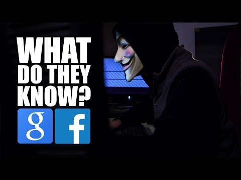 Google & Facebook Use YOUR DATA for Cool/Creepy Things