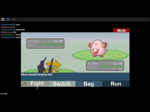 Roblox Project Pokemon How to get Chansey!!