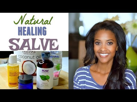How To Treat Skin Rashes, Cuts and Scrapes Naturally | DIY Healing Salve For The Whole Family
