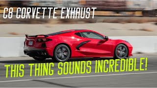 ALL THE SOUNDS OF THE C8 2020 CORVETTE EXHAUST! Cold Start, Revving, Idling, Acceleration