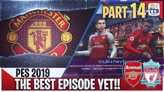 TTB] PES 2019 - Man United Master League #19 (Realistic Mods